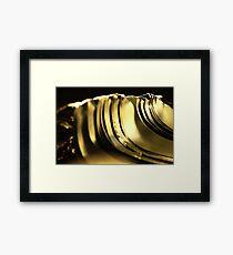 Abstract Macro #66 Framed Print