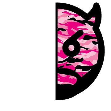 Japanese Dizzy (Pink Camo) (For Dark Tees) by Brotherhood410