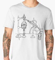 Distilation Apparatus (India Ink) Men's Premium T-Shirt