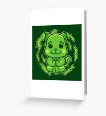 EARTH Cat Greeting Card