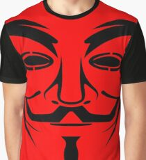 Anonymous Red Graphic T-Shirt