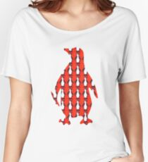 Penguin Knit Women's Relaxed Fit T-Shirt