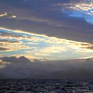Sunset, South Georgia, Southern Atlantic by Carole-Anne
