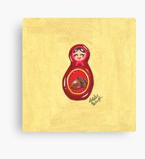 Red Doll Canvas Print