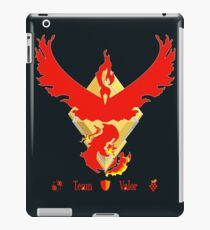 Team Valor - Pokemon Go [Dark bkgd] iPad Case/Skin