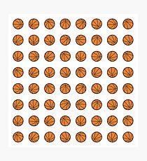 B-ball Basketball Fan Photographic Print