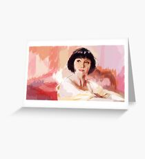 A Good Morning with Phryne Fisher Greeting Card