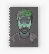 Space Freckles - Aquarius Jacksepticeye Spiral Notebook