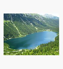 Morskie Oko Photographic Print