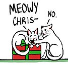 Meowy Christmas by AnsateJones
