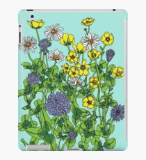 Daisies Buttercups and Clover iPad Case/Skin