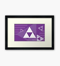 Retro Games: Zelda Framed Print
