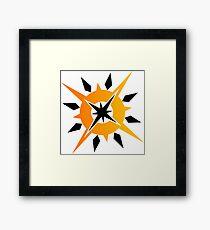 Ultra Sun Framed Print