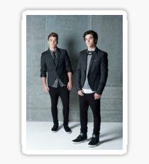 Handsome Twins Sticker