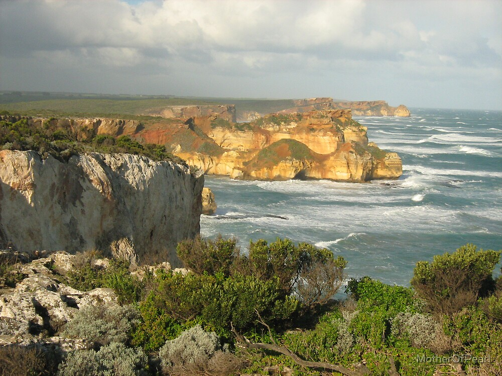 The cliffs by MotherOfPearl