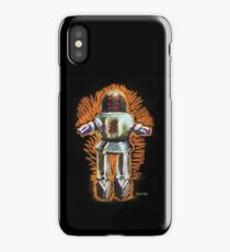 Lost in Space Robot: Retro Pop Toys Collection iPhone Case/Skin
