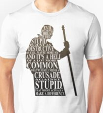 Crusade Against Stupid Unisex T-Shirt