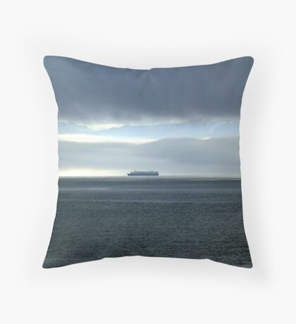 Alone With the Power of Nature Throw Pillow