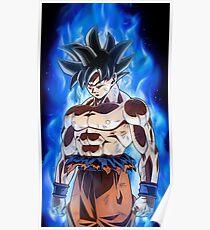 Dragon Ball Super - Goku Ultra Instinct (New Transformation) Poster