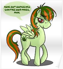 Weed pony  Poster