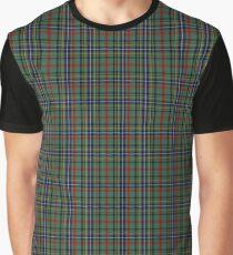 Bisset Clan/Family Tartan  Graphic T-Shirt