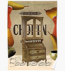 chopin nocturnes Poster