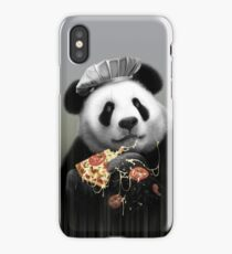 PANDA LOVES PIZZA iPhone Case