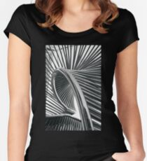 Spiral Steel Women's Fitted Scoop T-Shirt