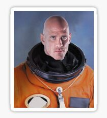 Johnny Sin Astronautt Sticker