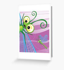 Critterz - Dragonfly 2 Greeting Card