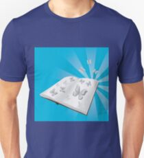 Butterfly cut out of book T-Shirt