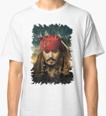 Captain Jack Sparrow - Pirates of the Caribbean Classic T-Shirt