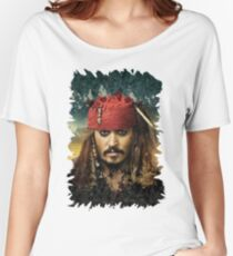 Captain Jack Sparrow - Pirates of the Caribbean Women's Relaxed Fit T-Shirt