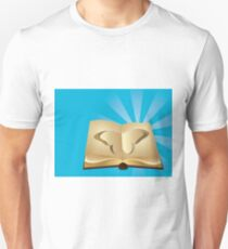 Butterfly cut out of book 2 Unisex T-Shirt