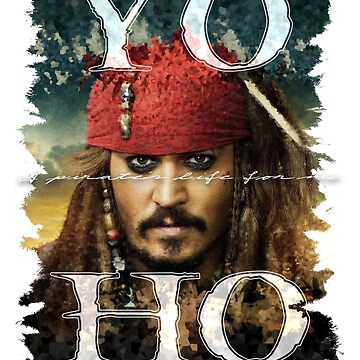 Captain Jack Sparrow - Pirates of the Caribbean by ethanmcrae