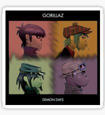 Gorillaz: Demon Days Sticker