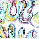 Big Squiggles by Rina Miriam  Drescher
