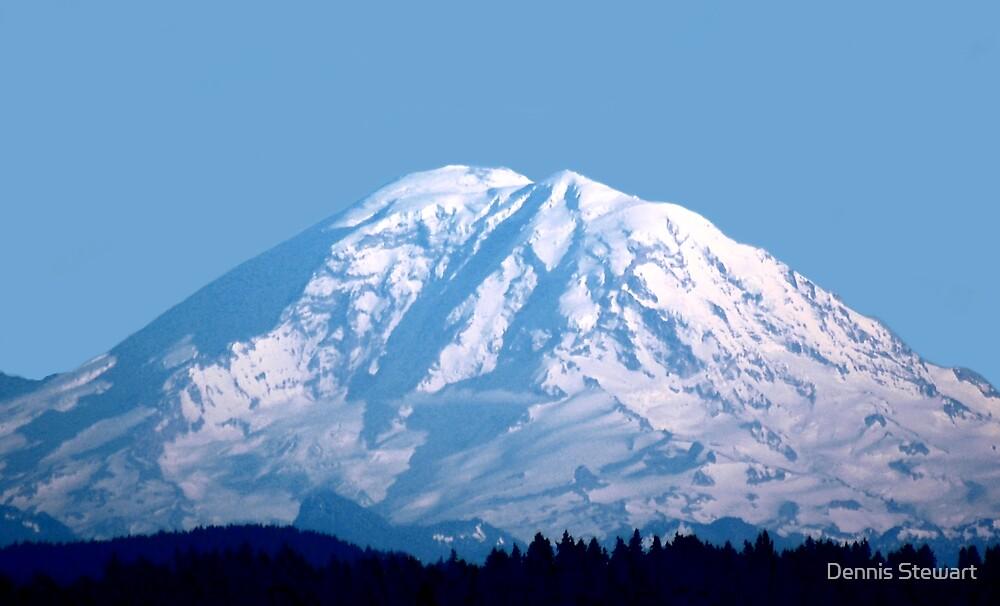Mount Rainier by Dennis Stewart