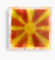 Macedonia Flag Reworked No. 2, Series 1 Metalldruck