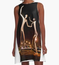 Dancers in the Dark A-Line Dress