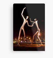 Dancers in the Dark Metal Print