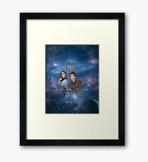 Dr. Who Quote  Framed Print