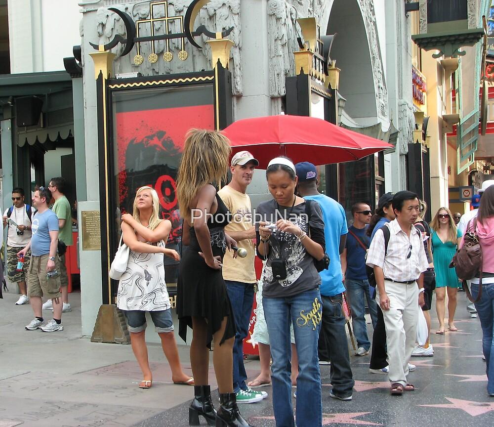 Hollywood Street Characters III by PhotosbyNan