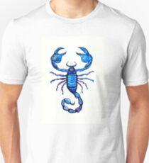 Blue Scorpion  Slim Fit T-Shirt