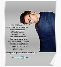 Tenth Doctor Quote Poster