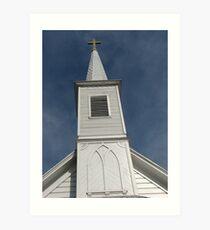 Church built in 1888--Pico Rivera CA Art Print