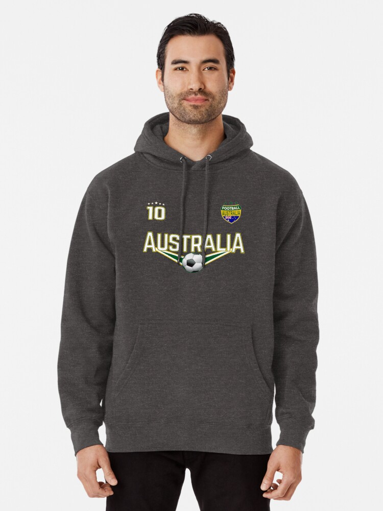 Australia Soccer Retro National Team Mens Fleece Hoodie Sweatshirt Men  Fashion Hoodies & Sweatshirts
