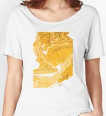 Snake Skin Marble Women's Relaxed Fit T-Shirt