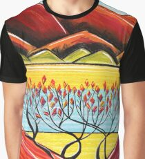 Pastels - The Red Hour Graphic T-Shirt