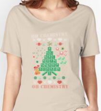 Oh Chemistree Chemistry Funny Ugly Christmas Sweater Women's Relaxed Fit T-Shirt
